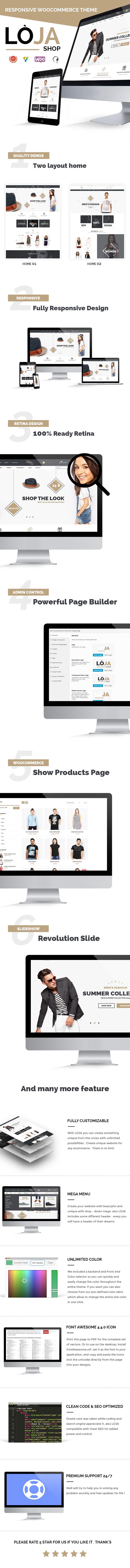 Loja - Responsive WooCommerce Theme
