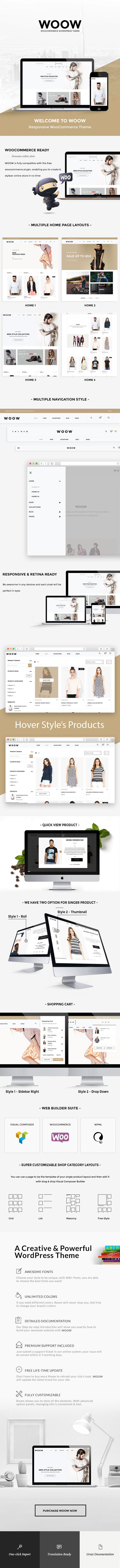 WOOW - Fashion WooCommerce WordPress theme