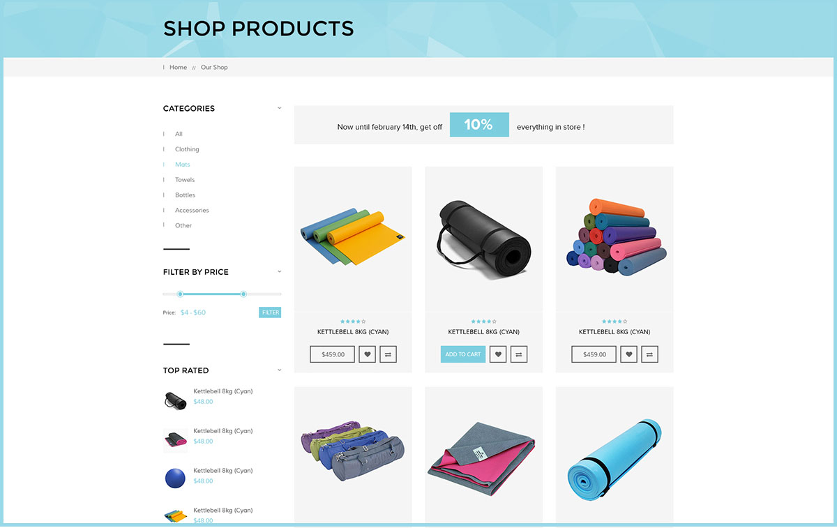 WooCommerce Compatible for online shop