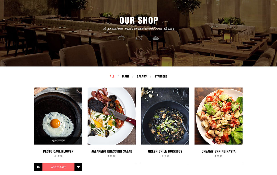 Online Food Order with WooCommerce