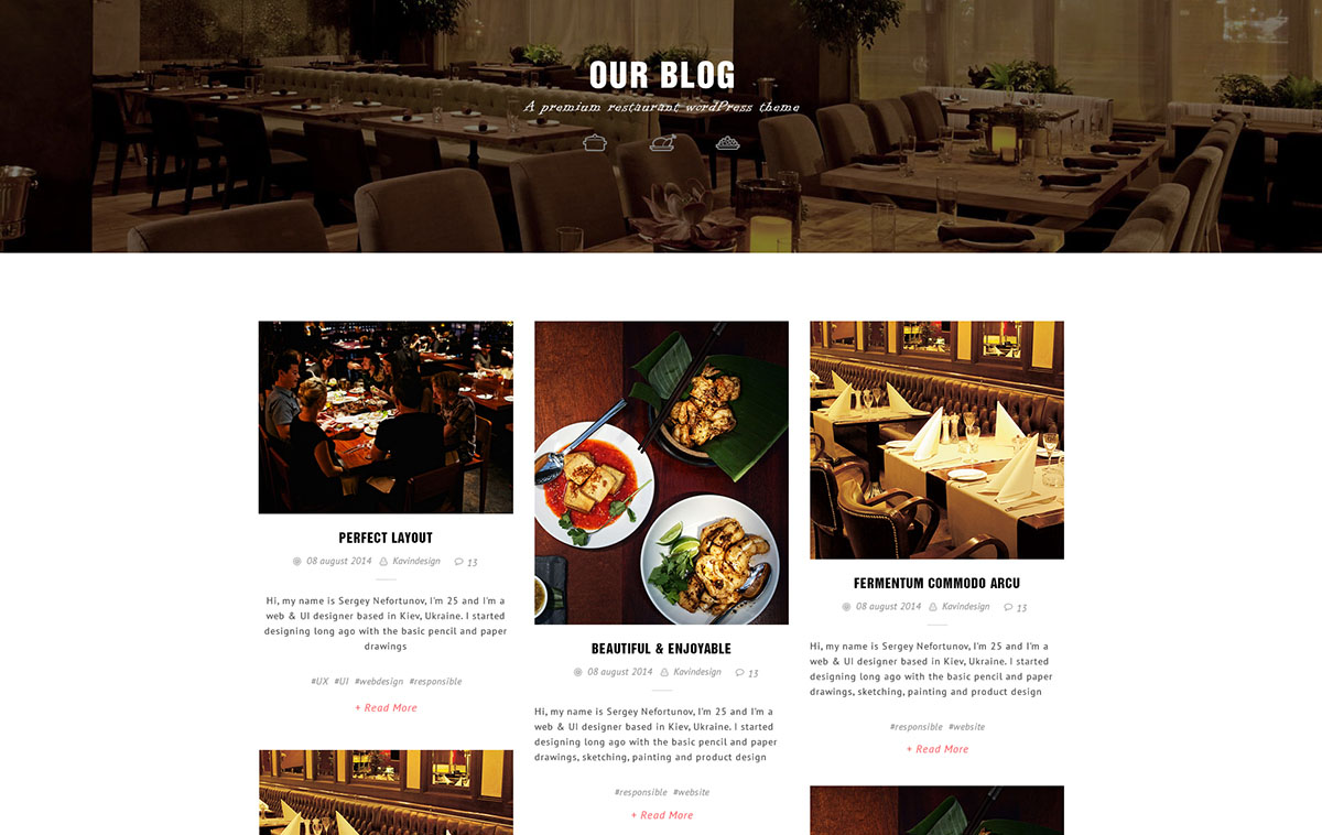 7 Premade Blog Layouts