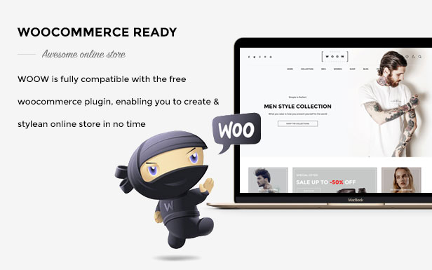 woow multi demo woocommerce theme
