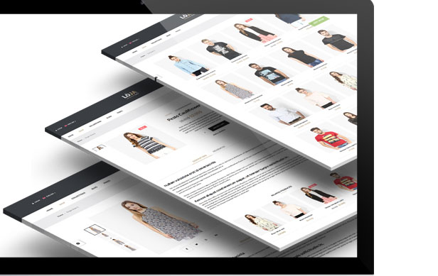 Multiple Shop Pages Styles