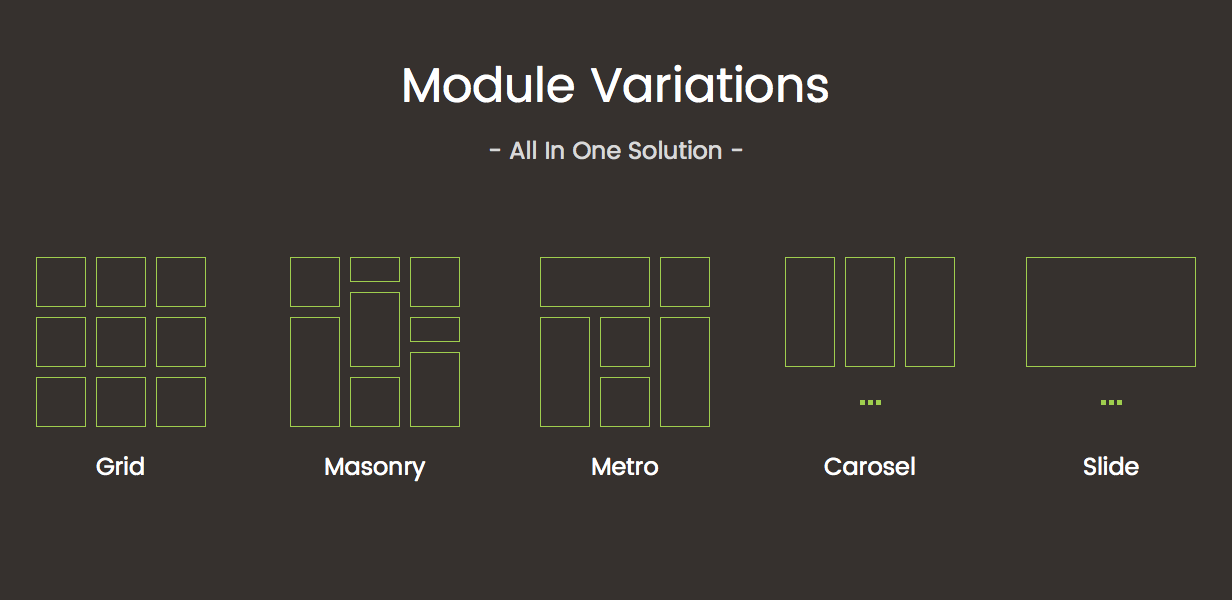 Tons of Flexible Layout Variations